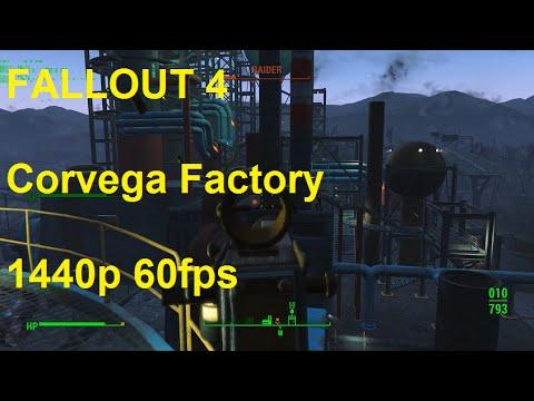 Fallout 4 - Corvega Factory (1440p60)