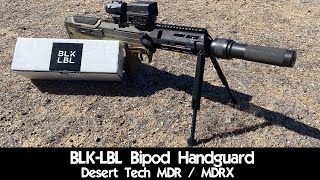 BLK-LBL Bipod For The MDR / MDRX