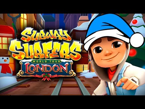 SUBWAY SURFERS WORLD TOUR 2018 - LONDON - HAPPY HOLIDAYS ✔ JAKE - NEW HIGH SCORE + HUNT PRIZE