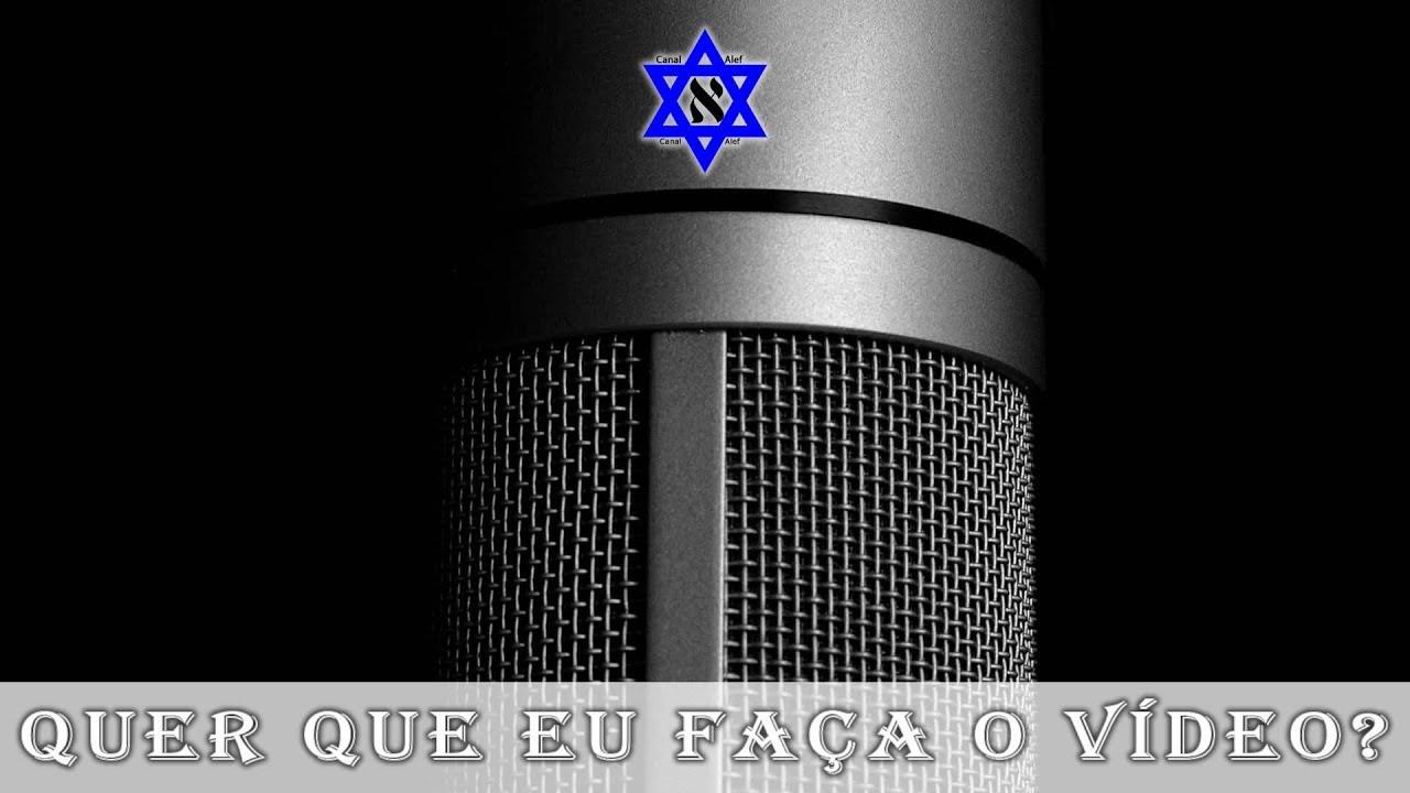 Você quer que eu grave um vídeo com o áudio do que falei hoje na sinagoga? Comente - Canal Alef