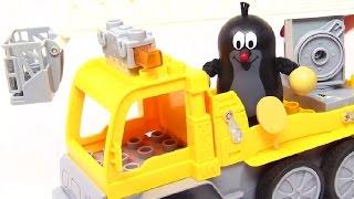 Мультфильм для малышей - Кротик спасает котёнка - Игрушки для детей