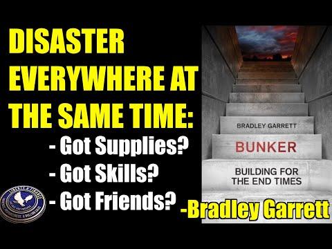 "DISASTER EVERYWHERE AT THE SAME TIME   Bradley Garrett, Author Of ""Bunker"""