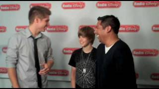 Justin Bieber Is Bieber Cash On Radio Disney With Jake And Ernie D