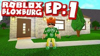 Bloxburg #1 - MY BRAND NEW HOME (Roblox Welcome To Bloxburg)