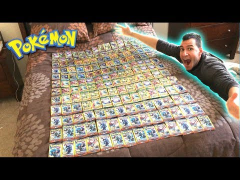 OPENING 200 POKEMON CARDS PACKS FROM DOLLAR TREE!