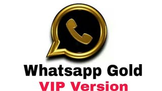 WhatsApp GOLD! VIP version, how to download? Check out| answerbook.