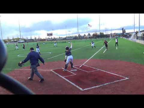 180412 GHS vs Liberty-Single to Right Field