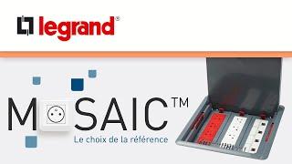 Boîtes de sol Mosaic™ de Legrand, une gamme vraiment universelle