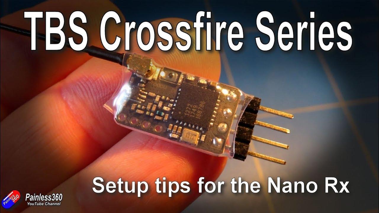 TBS Crossfire Series: TBS Nano Rx Setup Tips