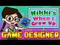 When I Grow Up: Game Designer | Super Mario Brothers, Minecraft, Angry Birds & More!