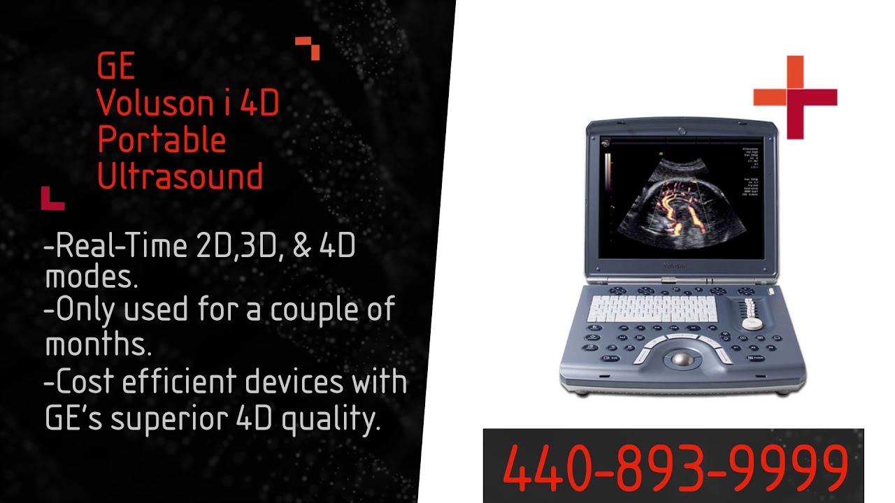 GE Voluson i Portable Ultrasound