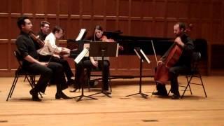 Schumann Piano Quartet [VC Chamber Spring 2012]