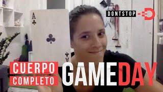 RUTINA CUERPO COMPLETO - GAME DAY - DONTSTOP