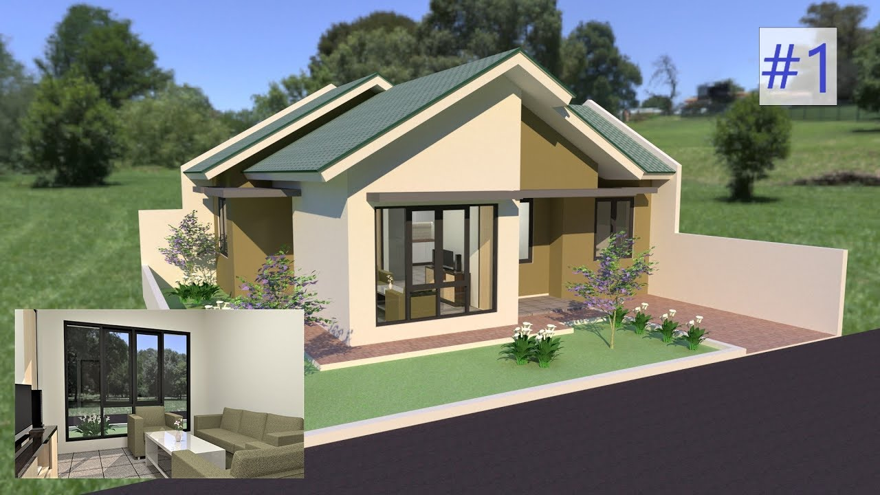 Sketchup House Design And Interior Vray 3 4 Part 1
