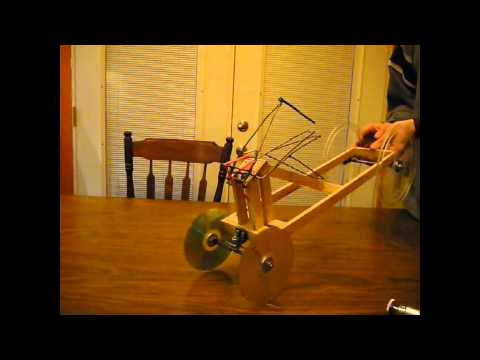 mousetrap car with multiple swing arms youtube. Black Bedroom Furniture Sets. Home Design Ideas