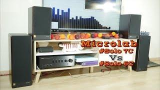 Microlab Solo 7c vs Solo 6c speakers sound & bass test [HQ]