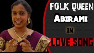 MATHURA MALLI VANGI VANTHU #Devakottai_Abirami || #FOLK_SONG || Gramya padalgal