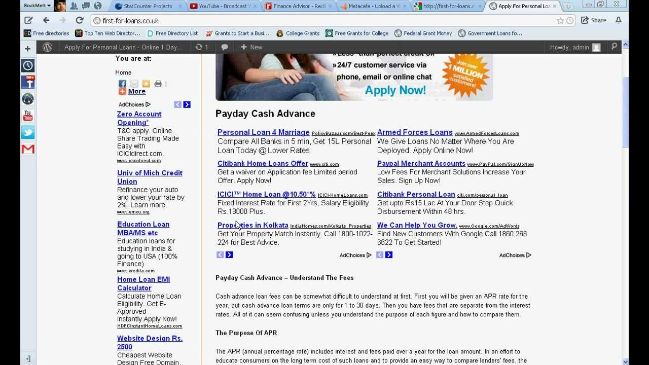 Fast online loans no credit check