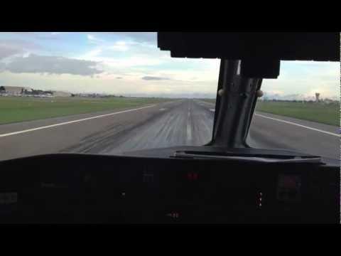 Air Tanzania landing in Dar