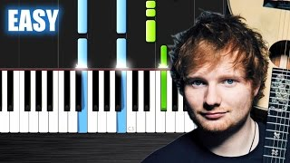 Video Ed Sheeran - Photograph - EASY Piano Tutorial by PlutaX - Synthesia download MP3, 3GP, MP4, WEBM, AVI, FLV Januari 2018