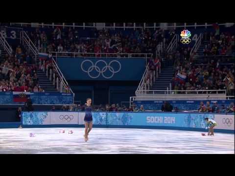 2013-14 Olympics 2014 Sochi - Yulia Lipnitskaya Team SP (NBC - HD)