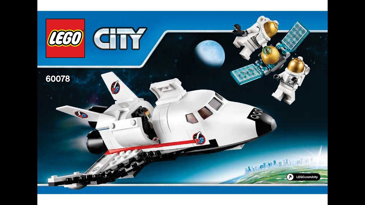 lego 60078 utility shuttle instructions lego city 2015. Black Bedroom Furniture Sets. Home Design Ideas