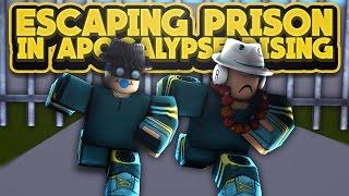 ESCAPING THE PRISON! (Apocalypse Rising ROBLOX)