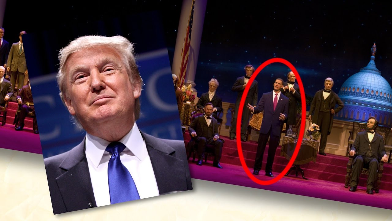 Donald Trump and The Hall of Presidents | Disney ...