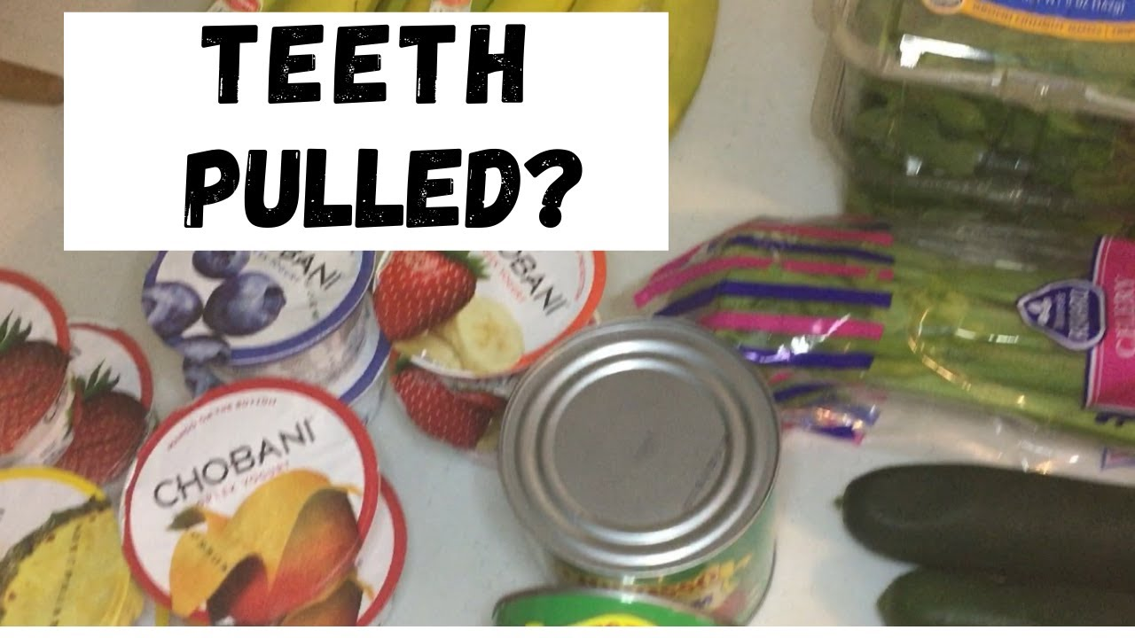 What To Eat After Tooth Extraction Survival Guide Youtube