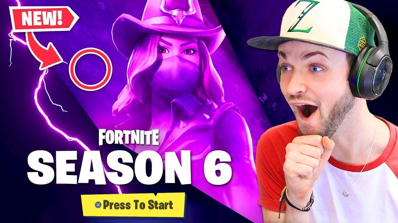 New Season 6 Secret In Fortnite Youtube