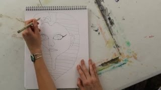 How to Draw an Egyptian Mask : Art Projects