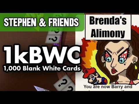 "1kBWC #4 - ""IN BED!"" (Stephen & Friends)"
