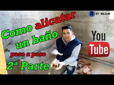 ALICATAR BAÑO PASO A PASO PARTE 2