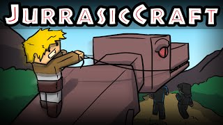 minecraft jurassic craft playing with guns roleplay ep 13