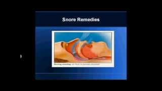 Snore Remedies........ How to stop Snoring Remedies