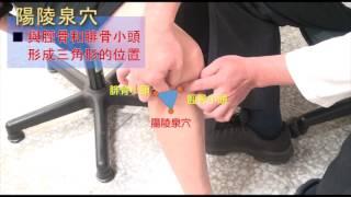 5-2:舒緩膝關節疼痛 ─穴道按摩
