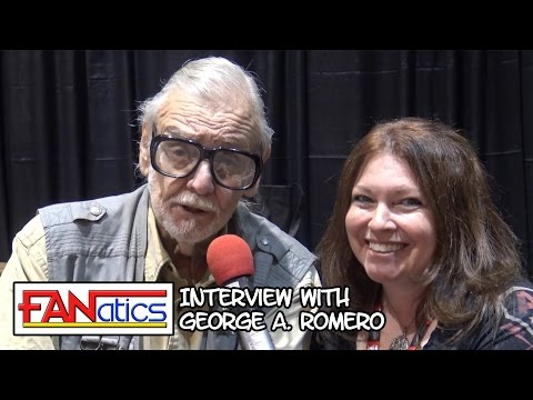 Chatting with direcor, George A. Romero! (Night of the Living Dead, Dawn of the Dead, etc.)