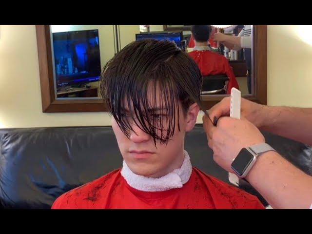Trim Styling Long Top Short Sides Men S Hair 2019 Youtube