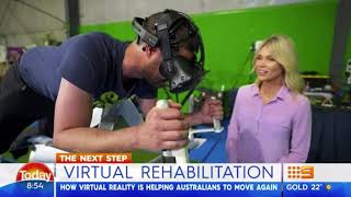 The Today Show - Virtual Reality Rehabilitation - Smart Bodies Smarter Minds