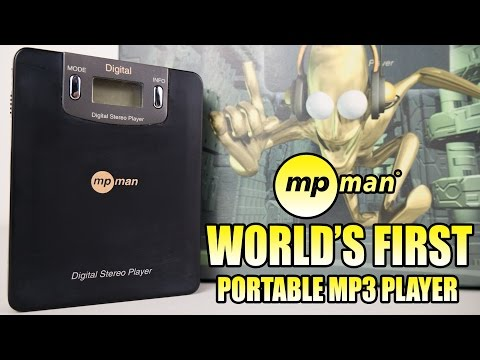 World's First portable MP3 player - the MPMan experience
