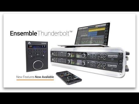 Apogee Ensemble Thunderbolt - Now 2x Better