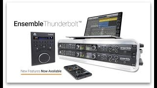 Apogee Ensemble Thunderbolt - Now 2x Better