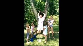 Dominic West ALS Ice Bucket Challenge