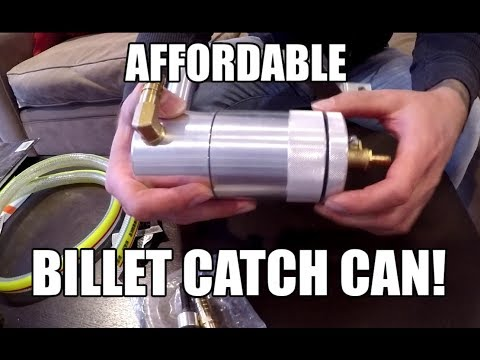 Dodge Ram HEMI 5.7L - Billet Catch Can INSTALL - IT WAS DIRT CHEAP!!!