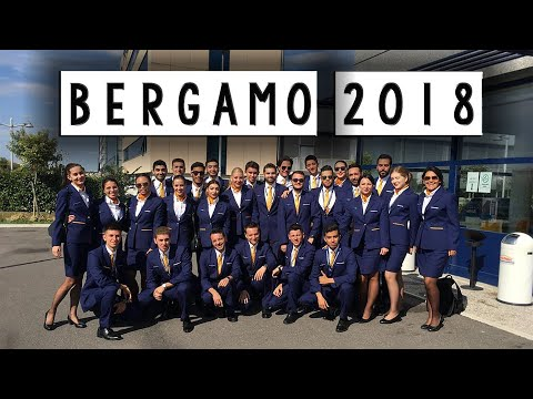 RYANAIR TRAINING COURSE BERGAMO 2018