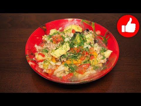 Тушеные овощи с фаршем в мультиварке рецепты с фото