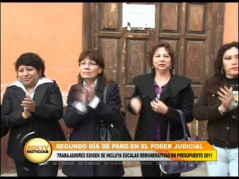 Segundo día de paro en el Poder Judicial
