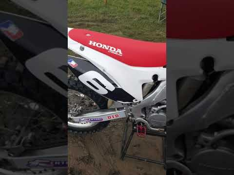 Honda cr125 scalvini pipe mxworld engine crisp 2stroke