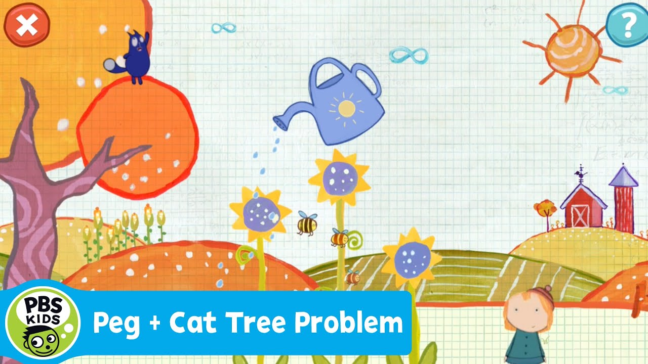 Peg Cat The Tree Problem Video
