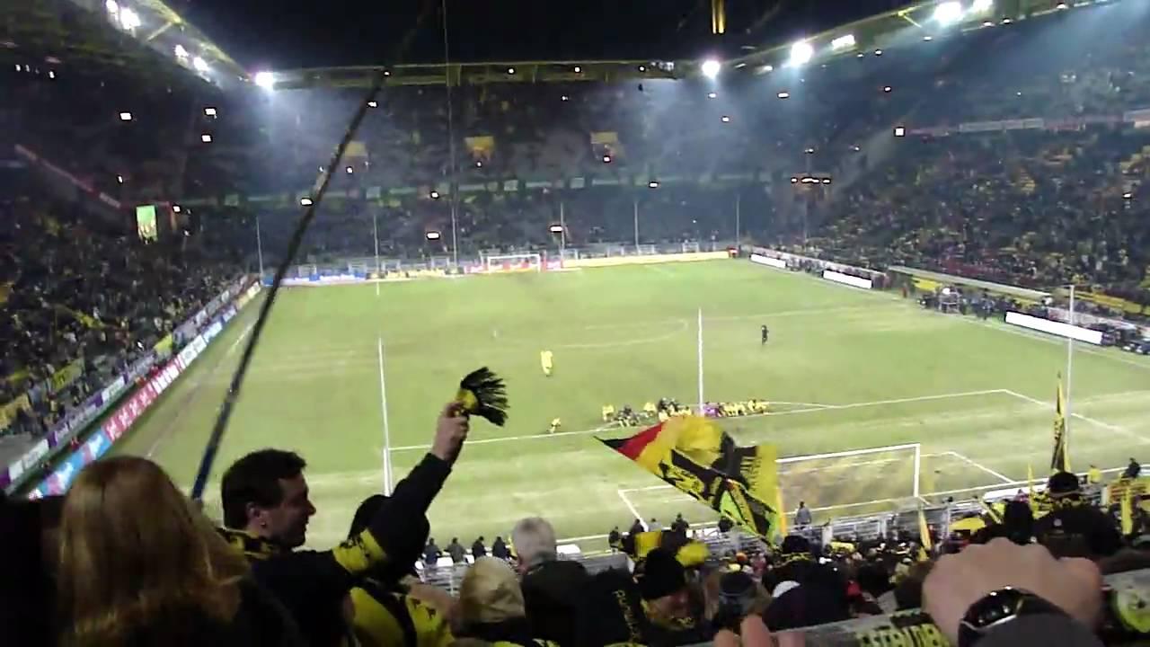 BVB - HSV .. HINSETZEN! .. 23.01.2010 (HD)